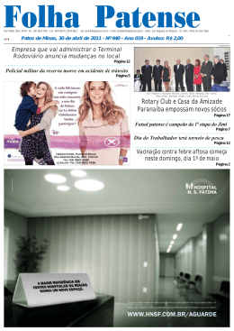 Folha Patense 30/04/2011(nº 940