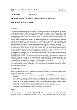 SP 09/12/83 NT 093/83 Nacionalização do Carregador de