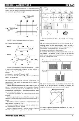 ESPCEX - MATEMÁTICA 2 - TÚLIO