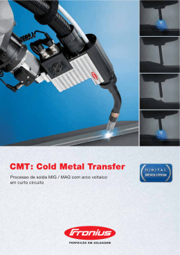 CMT: Cold Metal Transfer