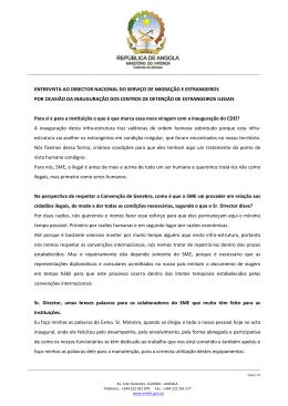 Entrevista Dr Freitas_CDEI - Serviço de Migração e Estrangeiros