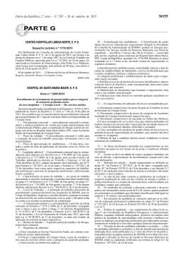 Aviso n.º 12067/2015 - Secção Regional Norte da Ordem dos Médicos