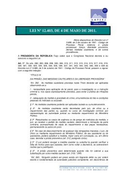LEI Nº 12.403, DE 4 DE MAIO DE 2011.