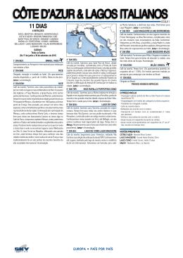 Côte D`Azur & LAgos ItALIAnos