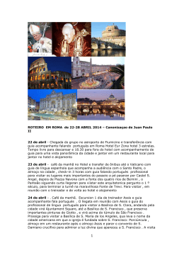 Roteiro de uma semana em Roma A