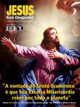 Edição 112 - Revista JESUS ESTÁ CHEGANDO!