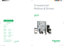 Guia Essencial Motion & Drives
