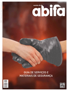 GUIA DE SERVIÇOS E MATERIAIS DE SEGURANÇA