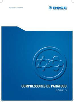 Compressores de parafuso I SÉRIE C