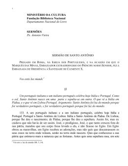 MINISTÉRIO DA CULTURA Fundação Biblioteca Nacional