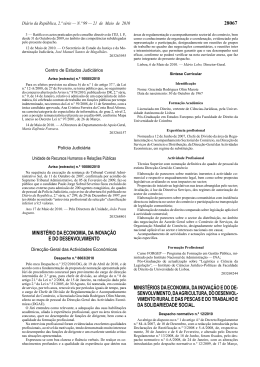 Despacho Normativo n.º 12/2010, de 21 de Maio