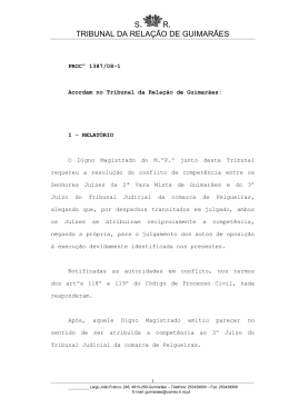 Consultar texto integral - Tribunal da Relação de Guimarães