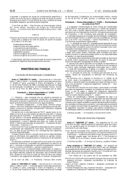 Aviso n.º 7467/2001, de 30 de Maio