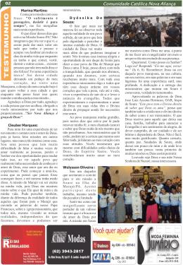 Página 2 - Comunidade Católica Nova Aliança
