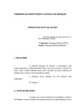 relatório ii - voto do relator