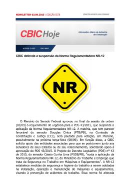 CBIC Hoje 03_09_2015