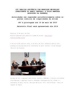 Boletim nº 24 - Auditoria Cidadã da Dívida