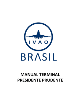MANUAL TERMINAL PRESIDENTE PRUDENTE