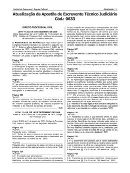 Cód.: 0633 - 1ª ed. - Central de Concursos