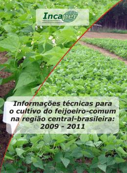 Informações técnicas para o cultivo do feijoeiro