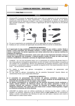 TURMA DE MEDICINA - BIOLOGIA