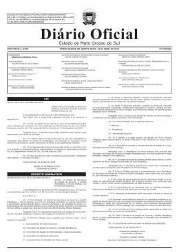 municipalidades - Diário Oficial