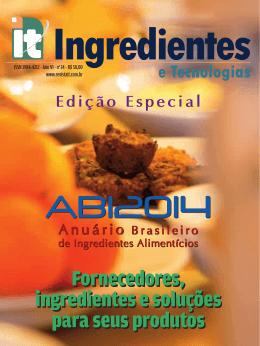 Fornecedores, ingredientes e soluções para