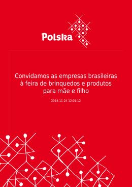 Convidamos as empresas brasileiras à feira de brinquedos e