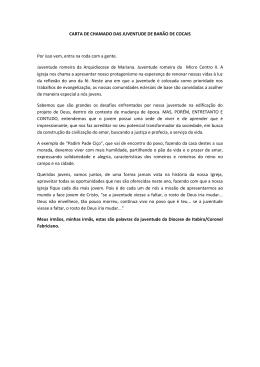 Clique aqui e confira, na íntegra, a carta publicada ao final do evento.