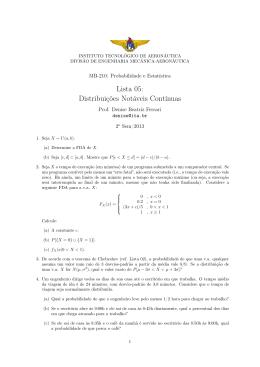 Lista - divisão de engenharia mecânica