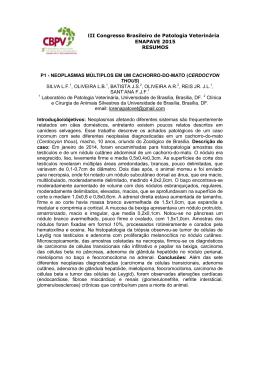 Anais Resumos enapave 2015 - 3º congresso brasileiro de