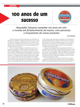 100 anos de um sucesso