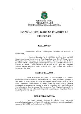 Comarca de Uruoca (Proc. nº 8501169-83.2012.8.06.0026)