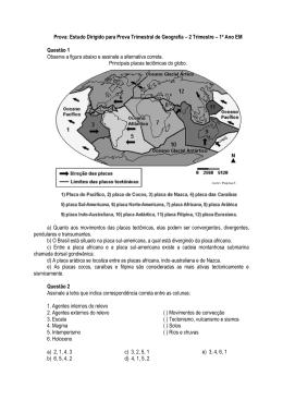 Estudo Dirigido - Escola Rainha do Brasil