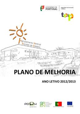 PLANO DE MELHORIA - Agrupamento de Cristelo