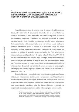 2 políticas e práticas de proteção social para o - Maxwell - PUC-Rio
