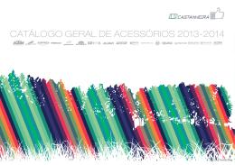 CATÁLOGO GERAL DE ACESSÓRIOS 2013-2014