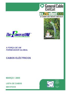CABOS ELÉCTRICOS