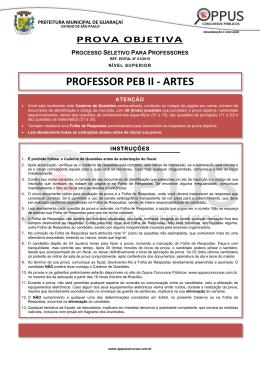 Prova - oppusconcursospublicos.com.br