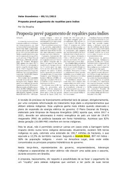 Valor Econômico - Instituto Acende Brasil