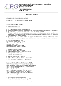 CURSO DE INFORMÁTICA / PORTUGUÊS / RACIOCÍNIO LÓGICO