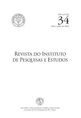 Ripe 34 - Instituição Toledo de Ensino