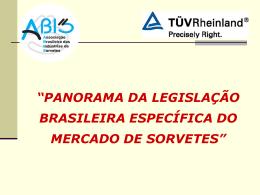 """""""regulamento técnico para gelados comestíveis e preparados"""