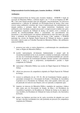 Atribuições - Ministério Público do Paraná