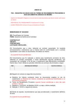 ANEXO 52 P20 – REGISTRO DO ENVIO DOS DO TERMO DE