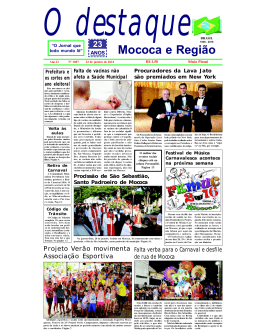 Mococa e Região - Jornal O Destaque
