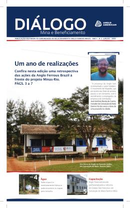 Um ano de realizações - Anglo American Brasil