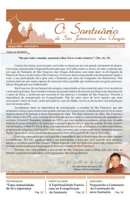 Edição 70 – Julho 2014Clique para baixar o jornal em PDF