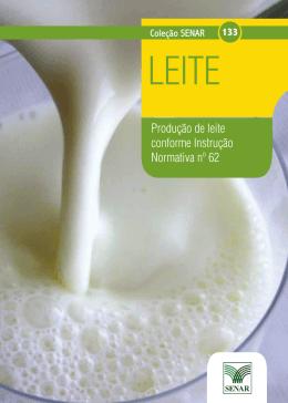 Produção de leite conforme IN 62 - SENAR-AP