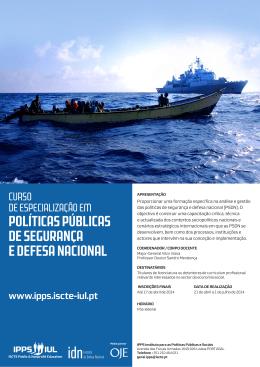 políticas públicas de segurança e defesa nacional
